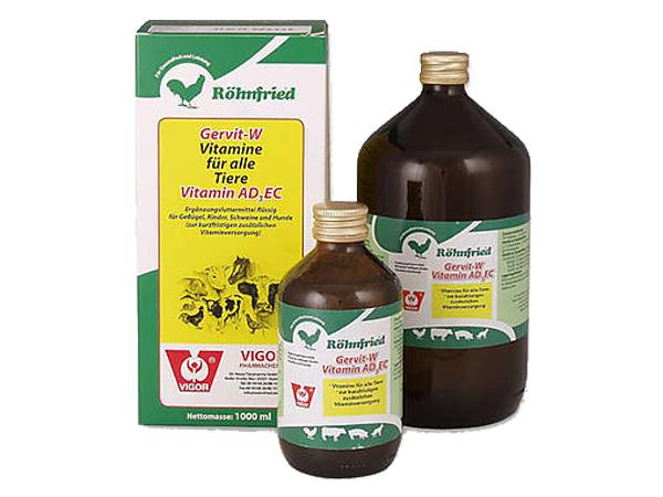 Gervit-W Vitamine für die Tiere-